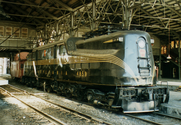 The Pennsylvania Railroad Gg1